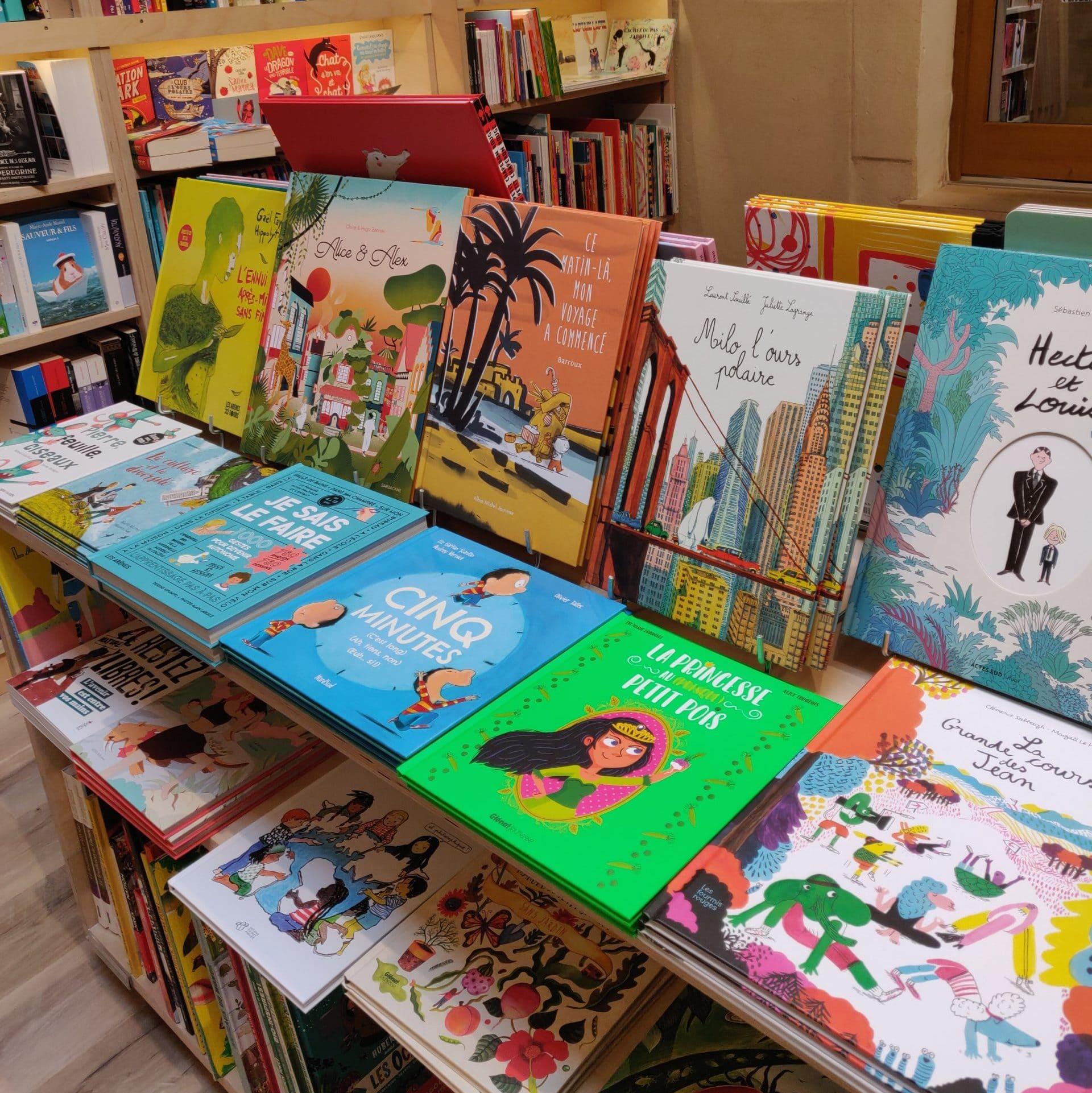 Librairie de livres pour enfants